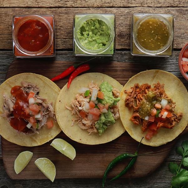 Comida a domicilio, Tacos mejicanos
